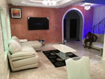 a Classic Fully  Serviced 4 Bedroom Duplex, Ajah [  Behind General Paint ] Close to Lbs, Lekki Gardens Estate, Ajah, Lagos, Detached Duplex Short Let