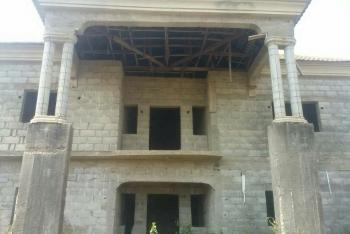 Fully  Built Up Carcass of 4 Bedroom Detached Duplex with Enough Space for Bq, Apo, Abuja, Detached Duplex for Sale