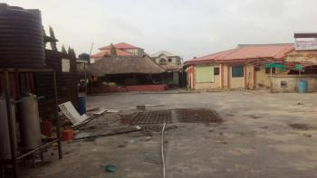 Commercial Land with an Old Bungalow on It, 3 Minutes From Novare Mall ( Shoprite), Lekki - Ajah Express Road., Sangotedo, Ajah, Lagos, Commercial Land for Rent