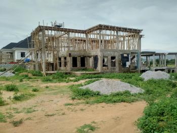 1950sqm C of O Land with Carcass Duplex, By Kado Naval Qtrs, Jahi, Abuja, Residential Land for Sale