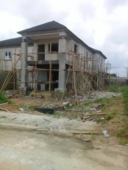 Uncompleted Four Bedroom Semi-detached Duplex, By Naval Base, Port Harcourt, Rivers, Semi-detached Bungalow for Sale