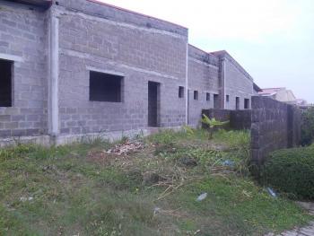 Carcass 3 Bedroom Bungalow, Mayfair Garden Estate, Lekki, Lagos, Semi-detached Bungalow for Sale
