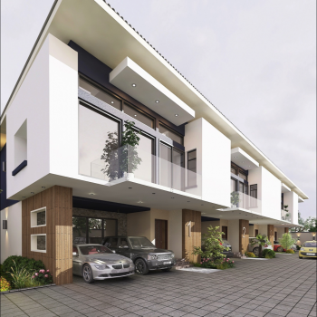 Luxury 3 Bedroom Terrace, Orchid Hotel Road, 2nd Lekki Toll-gate, Chevron, Lekki Expressway, Lekki, Lagos, Terraced Duplex for Sale