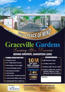 Serviced Plots, Graceville Gardens Monastery Road, Behind Shoprite  Lekki Ajah, Sangotedo, Ajah, Lagos, Residential Land for Sale