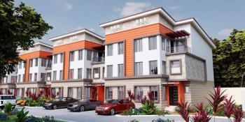 4 Bedroom Terrace Duplex with 1 Room Bq, Guzape District, Abuja, Terraced Duplex for Sale