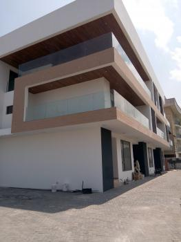 Newly and Luxury Built 4 Bedroom Service Terrace with an Excellent Facilities, a Room Bq, Fitted Kitchen, Off Spar Road, Ikate Elegushi, Lekki, Lagos, Terraced Duplex for Sale