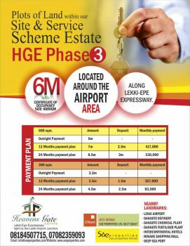 Heavens Gate Estate Phase 3,bolorunpelu, Lekki Airport Intersection with Lekki-epe Expressway, Eleranigbe, Ibeju Lekki, Lagos, Mixed-use Land for Sale