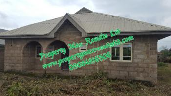 3 Bedroom  Bungalow at Finishing Level, Halleluyah Estate, Osogbo, Osun, Detached Bungalow for Sale