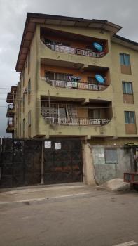 Block of 8 Flats, Shobande Street, Directly Off St. Finbarrs College Road, Akoka, Yaba., Akoka, Yaba, Lagos, Block of Flats for Sale