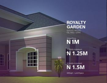 Royalty Garden Estate, Igbogun Road, Lekki Free Zone, Lekki Free Trade Zone, Lekki, Lagos, Residential Land for Sale