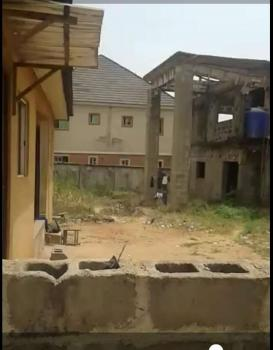 a Three Apartment Mansionette with 3 Unit One Bedroom Gate House., Off Okpanam Road, Entrance Opp Legislative Quarters, Oshimili South, Delta, Block of Flats for Sale