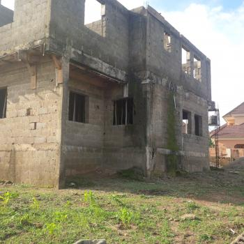 3 Units, Uncompleted 5 Bedrooms Detached Duplex with Bq Space in an Estate, Behind Digital Bridge Institute, Near Citec Estate, By Major Oil, Mbora, Abuja, Detached Duplex for Sale