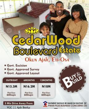Cederwood Boulevard Lekki Scheme 2, Off Lekki Scheme 2, Ogombo, Ajah, Lagos, Residential Land for Sale