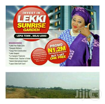 Investment Land Along Lekki Free Trade Zone Directly Opposite La Campagne Tropicana - Lekki Sunrise Gardens, Lepia Town, Before La Capagne Tropicana, Ibeju Lekki, Lagos, Residential Land for Sale
