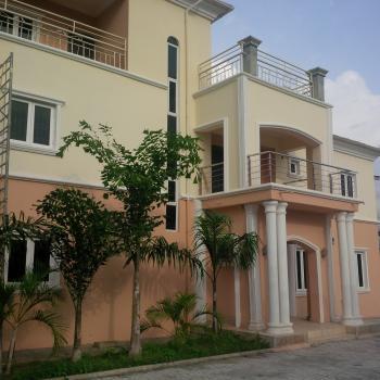 Newly Finished 5 Bedroom Twin Duplex with Bq, Off Mabushi Gwarimpa Expressway, Kado, Abuja, Semi-detached Duplex for Rent