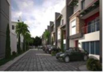 4 Bedroom Terrace with 1 Room Bq, By Chevron Round About, Lekki Expressway, Lekki, Lagos, Terraced Duplex for Sale