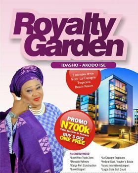 Land, Idashe, Ibeju, Lagos, Residential Land for Sale