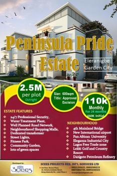 Plots on Promo, Elerangbe, Off 4th Mainland Bridge Road, Eleranigbe, Ibeju Lekki, Lagos, Residential Land for Sale