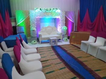 Rental of Hall for Your Various Occasions, 7, Razaq Balogun Street, Off Adebola Street, Off Adeniran Ogunsanya Road, Surulere, Lagos, Hall for Rent