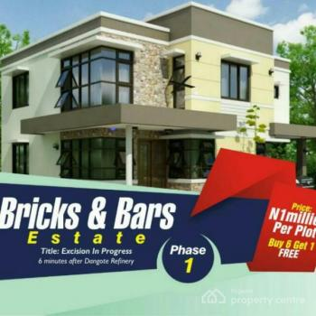 Investment Land Opposite Lacampagne Tropicana, Ibeju Lekki - Bricks and Bars Estate Phase 1, Opp Lacampagne Tropicana, Akodo Ise, Ibeju Lekki, Lagos, Residential Land for Sale