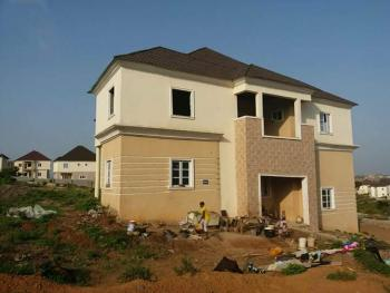 Virgin 5 Bedroom Duplex + Bq Sitting on 2400sqm Land, Nigerian Air Force (naf) Valley Estate, Behind Abacha Barracks Opposite Sunrise Hill Estate, Asokoro District, Abuja, Detached Duplex for Sale