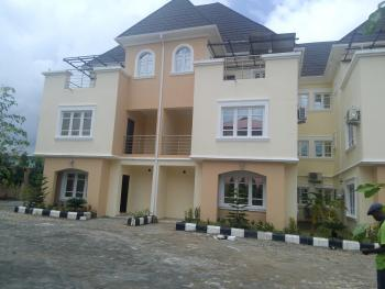 Newly Built and Tastefully Finished 3 Bedroom Terraced House with Servant Quarters with Fitted Air Conditioners, Utako, Abuja, Terraced Duplex for Rent