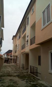 Serviced 3 Bedroom Block of Flats, Osapa, Lekki, Lagos, Flat for Rent