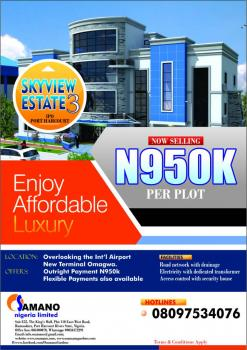 Land with a Flexible Payment Plan, Overlooking The Lnternational Airport, Ikwerre, Rivers, Residential Land for Sale