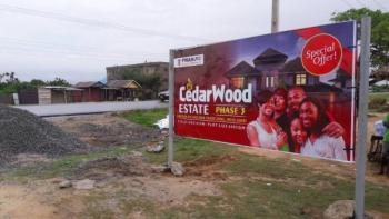 Hard-to-find Promotional Offer on The Charming Cedarwood Phase 3, 5 Minutes Before The Free Trade Zone, Near The General Hospital, Iberekodo, Ibeju Lekki, Lagos, Mixed-use Land for Sale