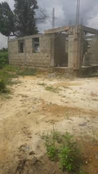 Uncompleted 4 Bedroom Duplex on 1 Plot of Land, Ohia Miniata Rumuosi, Rumuosi, Port Harcourt, Rivers, Detached Duplex for Sale