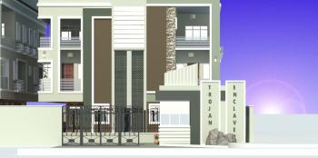 Luxury 4 Bedroom Semi Detached Duplex + Bq, Alayode Close, Opebi, Ikeja, Lagos, Flat for Sale