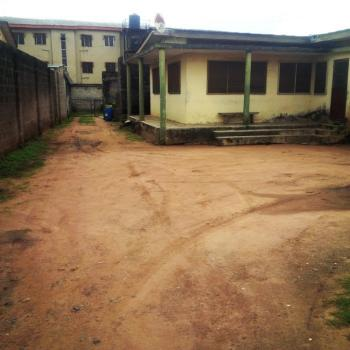 3 and Half Plots of Land with a 3 Bedroom Bungalow, a Mini Hall and a Warehouse, Isolo Road, Egbe, Lagos, Mixed-use Land for Sale