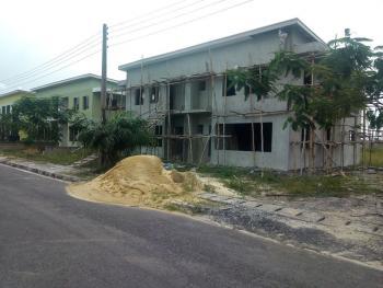 4 Bedroom Semi Detached Duplex (carcass), Sapphire Gardens Estate, Awoyaya, Ibeju Lekki, Lagos, Semi-detached Duplex for Sale