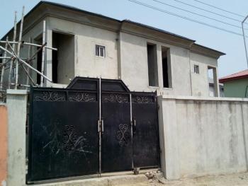 2 Units of 4 Bedroom Duplex (carcass) on a Gated Community, Abudu Close, Ado, Ajah, Lagos, Detached Duplex for Sale