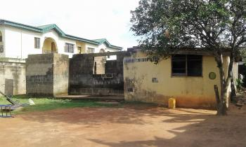 2 Bedroom Flat and Uncompleted 3 Bedroom Flat on a 704.329sqm Fenced Round and Gated Land, Off Alaja Road, Ayobo, Ipaja, Lagos, House for Sale