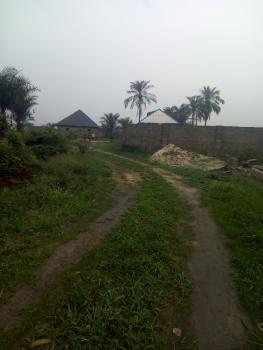 Cheap 1 Plot Buy N Build, By Omagwa Airport Roundabout, Obio-akpor, Rivers, Mixed-use Land for Sale