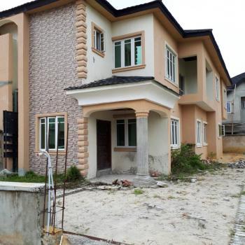 Carcass 3 Bedroom Duplex, Diamond Estate, Sangotedo, Ajah, Lagos, Semi-detached Duplex for Sale