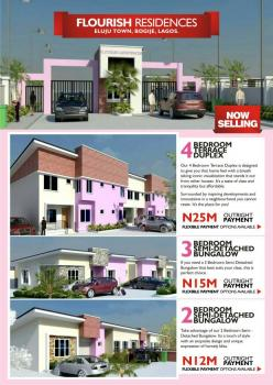 4 Bedroom Terrace Duplex with Certificate of Ownership, Bogije, Eluju, Ibeju Lekki, Lagos, Terraced Duplex for Sale