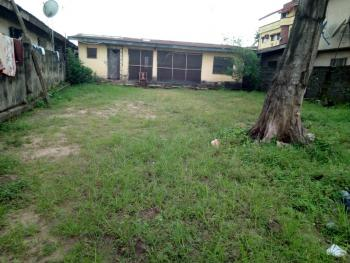 Land Measuring 400sqm with 2 Bedroom Bungalow Setback, Fenced Round with Gate for Multipurpose Use, Gbagada, Femi Aderibigbe St, Close to Total  Filling Station,off Diya Road, Ifako, Gbagada, Lagos, Commercial Land for Rent