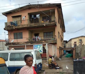 8 Flats: 6 Flats, of 3 Bedroom and 2 Flats, of 2 Bedroom, Olorunsogo Street  Mushin, Mushin, Lagos, Block of Flats for Sale