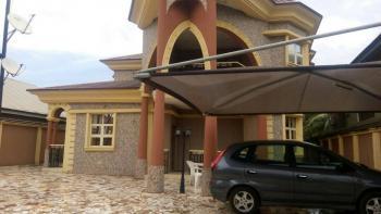 a Luxury Well Built 4 Bedroom Duplex, on a Tarred Road, De Limit Road, Off Sapele Road, Benin, Oredo, Edo, Detached Duplex for Sale