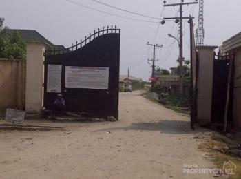 a Dry  Plot of Land Fenced with Foundation at Good News Estate, Good News Estate, Ogombo, Ajah, Lagos, Residential Land for Sale