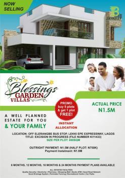 Blessings Garden  Villas, Elerangbe Town, Eleranigbe, Ibeju Lekki, Lagos, Mixed-use Land for Sale