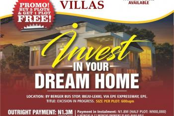 The Vine  Villas, Berger Bus-stop, Off  Lekki-epe Expressway, Epe, Lagos, Mixed-use Land for Sale