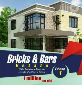Cheapest Offer on Dry  Land, 5mins After Dangote Refineries, Ibeju Lekki, Lagos, Mixed-use Land for Sale