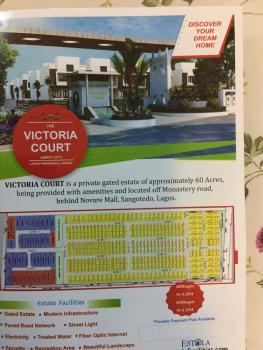 Plots of Land for Sale at Victoria Court Ii Elerangbe, Elerangbe, Arapagi Oloko, Ibeju Lekki, Lagos, Residential Land for Sale