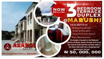 3 Bedroom Terrace Duplex, Mabuchi, Abuja, Terraced Duplex for Sale