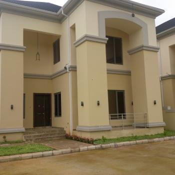 Exquisitely Finished, 6 Bedrooms Semi Detached Duplex with Servant Quarters, By Coza Church, Asokoro District, Abuja, Semi-detached Duplex for Rent
