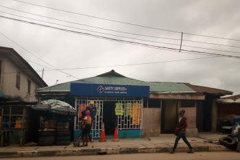Bungalow on a Plot of Land, Church Street, By Brown Str, Oshodi, Lagos, Commercial Land for Sale