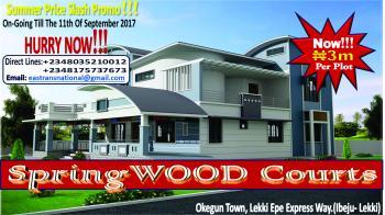 Grand Masterpiece! Springwood Courts Lekki., Located in Okegun Area of Ibeju Lekki, in Close Proximity with The P. a. N Atlantic University, Lekki Expressway, Lekki, Lagos, Mixed-use Land for Sale